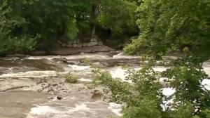 Drone used to help rescue kids stranded in dangerous rapids