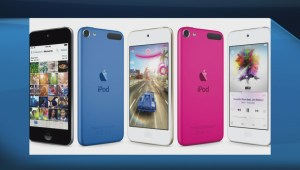 Apple unveils new iPod, colours