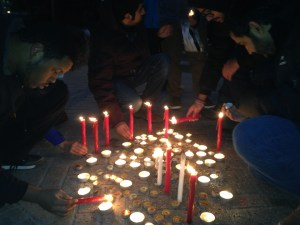 Candelight vigil held for the victims of the attack on Peshawar school
