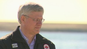 Harper in Nunavut inspecting research centre development, military arctic exercises