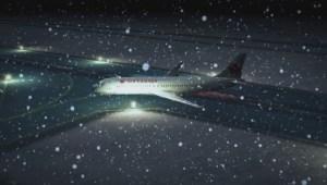 Recreation of AC Flight 624 crash in Halifax