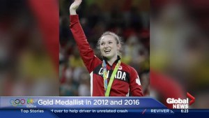 Rosie MacLennan on winning back to back gold for Canada