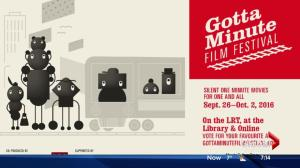 Gotta Minute Film Festival taking over public spaces in Edmonton