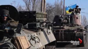 Ukraine still under attack one week after ceasefire