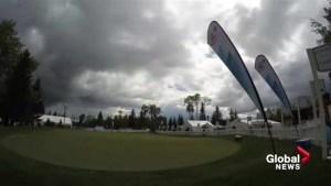 Weather rolls through CP Women's Open