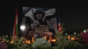 Kurds hold memorial service for James Foley killed by ISIS militants