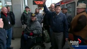 Calgary Transit driver retires after 50 year career