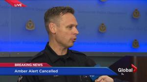 Vancouver Police speak about the resolution of the latest amber alert