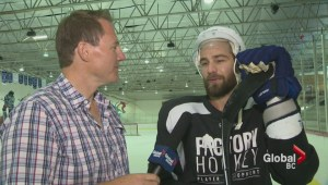 Canuck's Chris Higgins ready for a new season