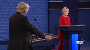 Presidential debate: Clinton slams Trump telling him she's been preparing to be president