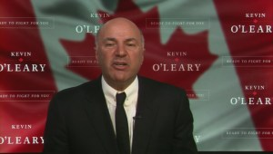 Kevin O'Leary explains his vision for Canada, says he's 'coming' for PM Trudeau