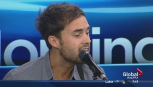 Tim Chaisson performs on The Morning News
