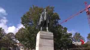 Halifax mayoral candidates on the future of the Cornwallis statue
