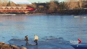 Thin ice poses huge risk to Calgarians