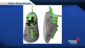 Joe Fresh Baby Shoe recall because of possible choking hazard