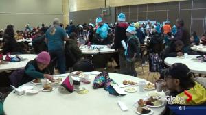 Bissell Centre serves New Year's meal to hundreds in need