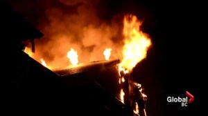 Apartment fire in Surrey displaces 50