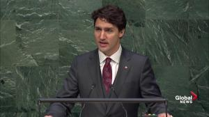 Trudeau: Canada has a role to fight climate change nationally, globally
