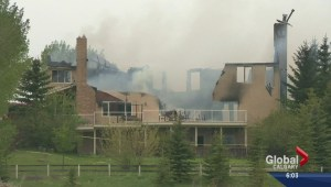 Springbank home reduced to rubble after fire