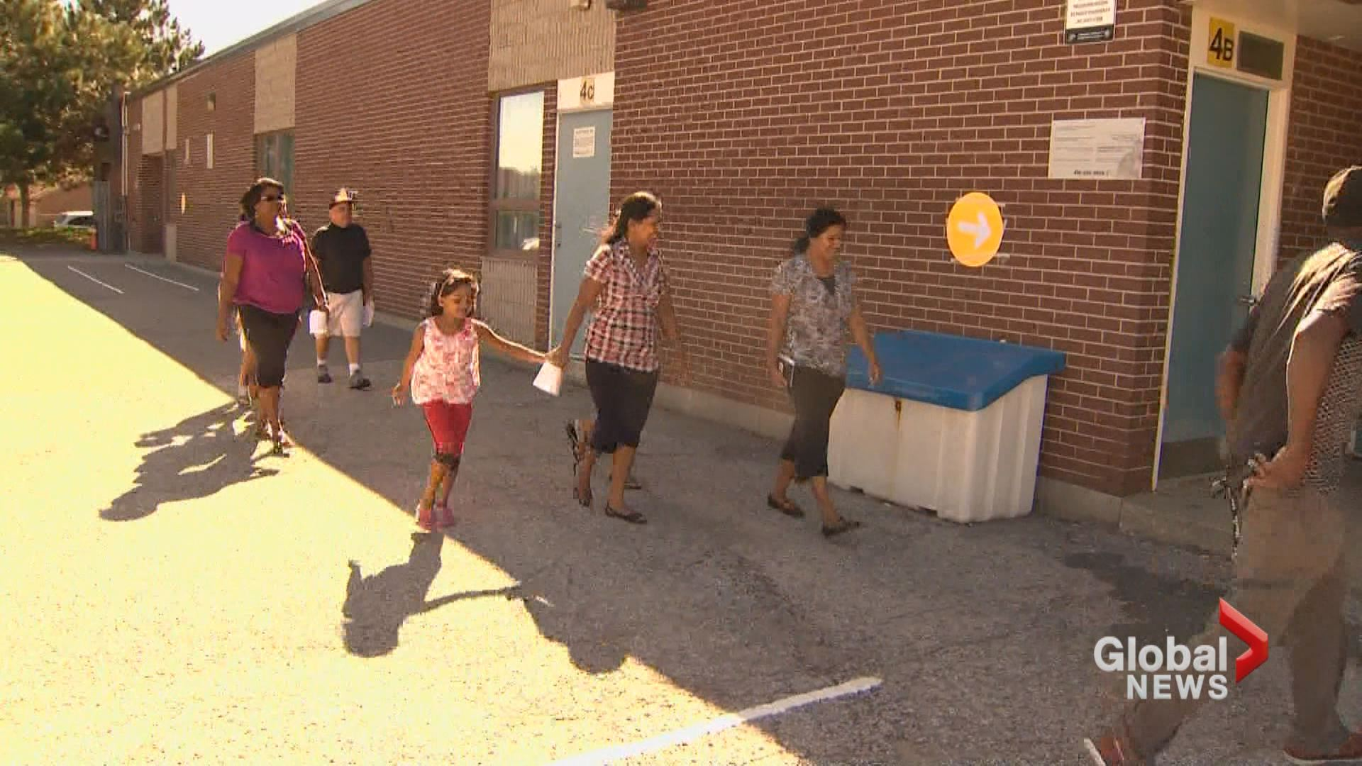 Voters cast ballots today in Ontario byelection
