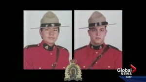 10-year memorial held in Spiritwood, Sask. for 2 fallen RCMP officers