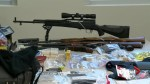Calgary police and RCMP make giant drug and weapons bust in southern Alberta
