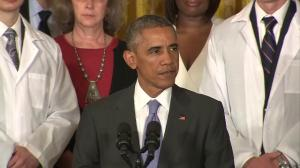 "Obama: ""When disaster strikes, the world calls us"""