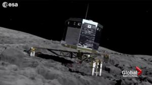 12 year Rosetta spacecraft mission comes to an end with a bang
