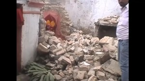 Indian officials comment on earthquake disaster in Bihar province