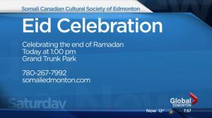 Celebrating the end of Ramadan