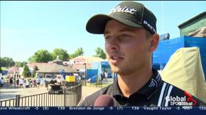 Adam Svensson reacts to 3rd round performance at RBC Canadian Open