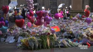 St. Ann's Square in Manchester becomes a veritable sea of flowers