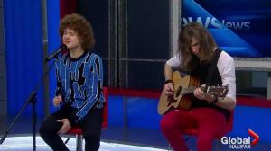 Francesco Yates Performs