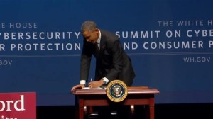 President Obama signs executive order on cybersecurity