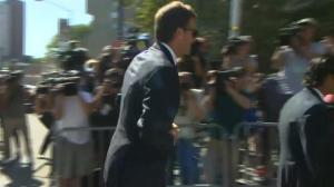 Tom Brady, Roger Goodell arrive for court hearing over 'Deflategate'