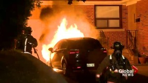 Toronto police arrest suspect in alleged serial car arson