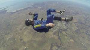 Raw Video: Man has seizure during skydive