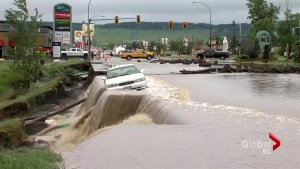 Heavy rains cause widespread flooding in Peace Region