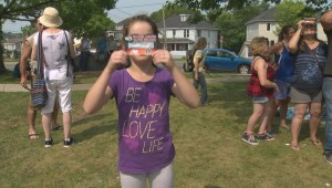 The sights and sounds of Moncton during the 2017 solar eclipse