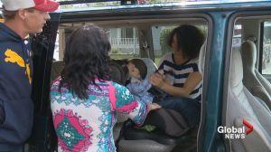 Wheelchair lift stolen from 7-year-old quadriplegic Alberta boy
