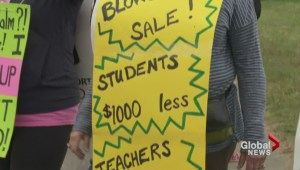 BC teachers dispute: Strike fund runs out
