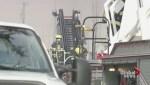 Crews battle huge fire at Langley condo complex