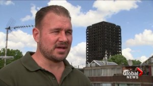 London fire witness describes racing to save victims of apartment blaze