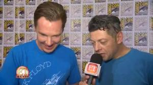 Benedict Cumberbatch And Andy Serkis Swap 'Hobbit' Voices