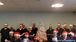 New Mexico prisons recreate 'The 12 Days of Christmas'