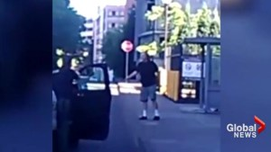 New video shows Portland police confronting man accused of killing 2 men on board train