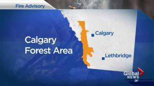 Fire risk high in Alberta