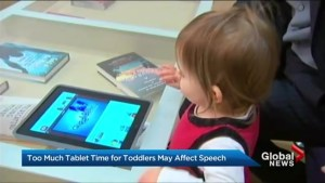Could mobile screen time for babies lead to speech delayed?