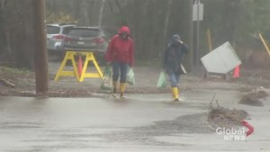 Saint John residents prepare for possibility of flooding as rainfall continues