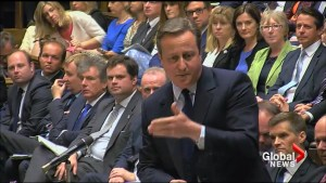 Britain's David Cameron tells opposition leader to stand down in wake of no-confidence vote